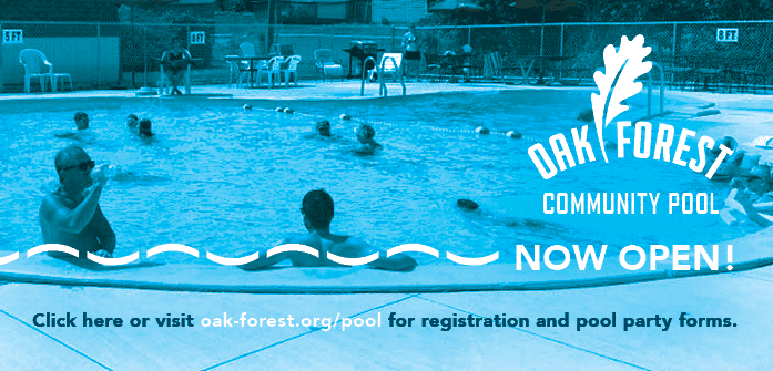 Oak Forest Community Pool Open
